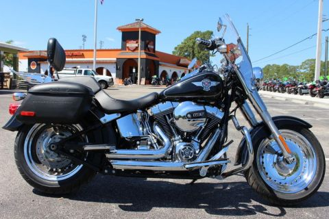 Pre-Owned 2017 Harley-Davidson Softail FLSTF - Fat Boy